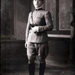 Antonio Salomone fu Samuele in una foto del 1922